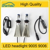 New Car Accessories products 9005 9006 9007 Cree Led Headlight bulb