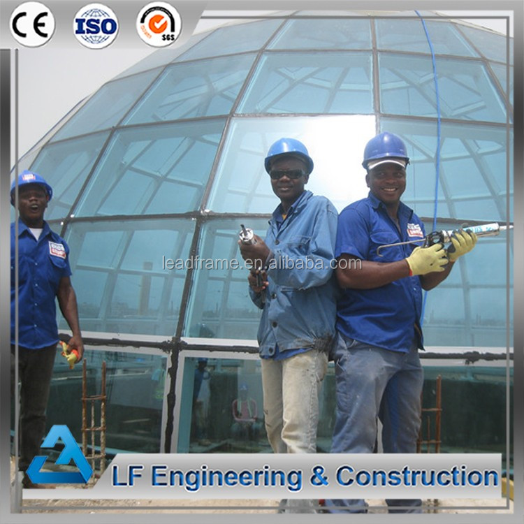 Professional Design Safety Glass Dome Building