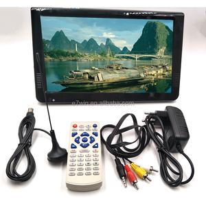 HD Portable TV 10inch Digital And Analog LED Televisions Support TF Card USB Audio Car Television DVB-T DVB-T2