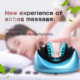 Neck rolling Kneading massager/shiatsu infrared massage pillow with heat