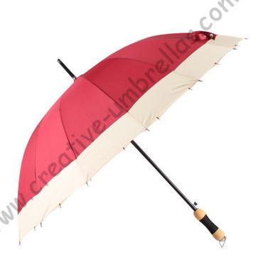 Автоматический открытый, 16 К umbrellas' ребра, pongee ткани, профессиональный решений зонтики, зонтики прямой, 10 мм вал металла и рифленая ребра