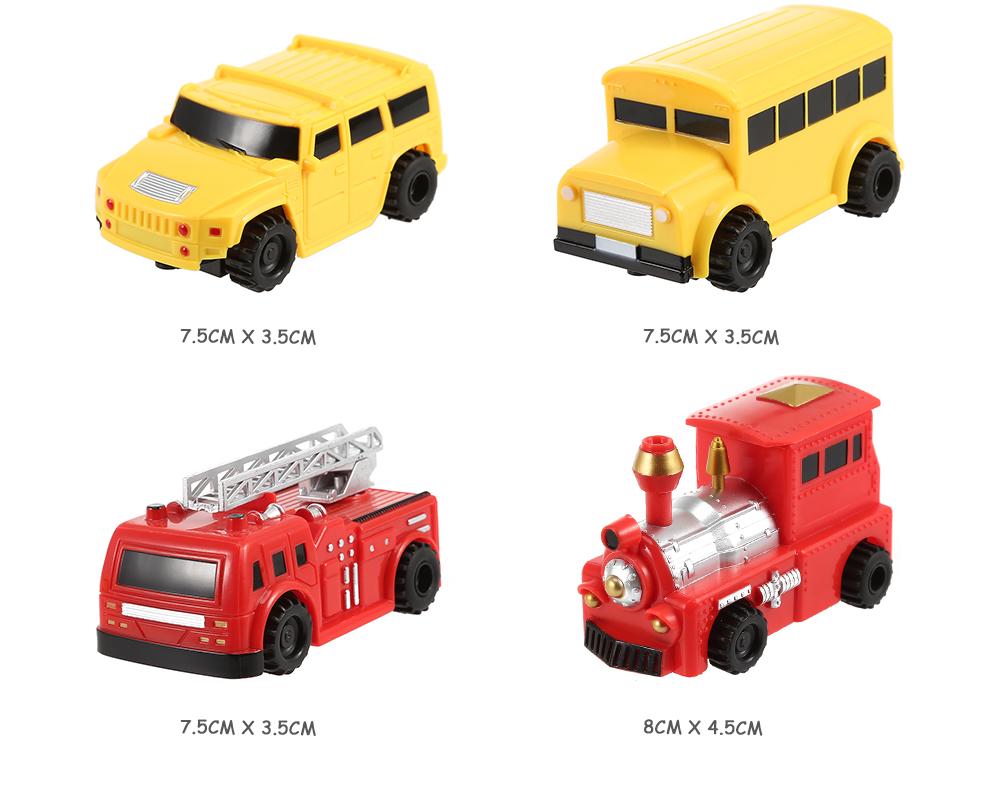 Magic Pen Follower Inductive Truck Car Toys Mini Magic