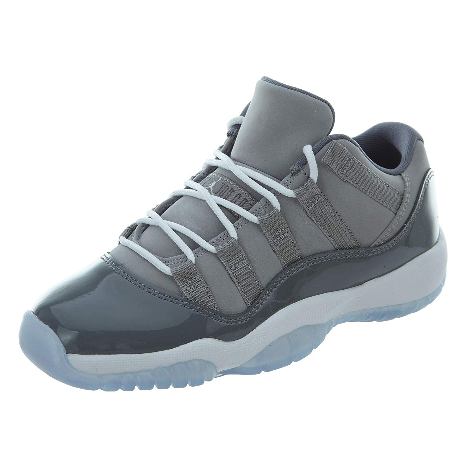 hot sale online 177c9 bf4b7 Get Quotations · JORDAN(ジョーダン) Jordan Retro 11 Low Cool Grey Medium Grey  White-Gunsmoke