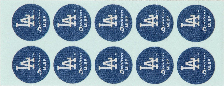 Phiten MLB Authentic Titanium Discs, Los Angeles Dodgers, 30 Discs