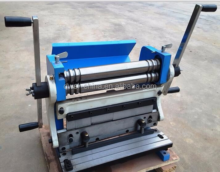 HIGH QUALITY Manual Shear/Bend/Roll Machine , 3-in-1 Combination Shear Brake & Roll Machine