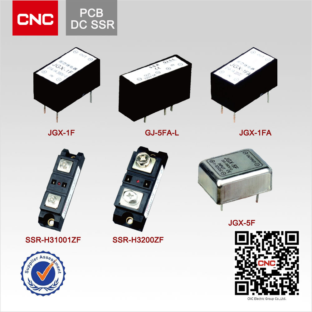 PCB type high quality DC solid state relay symbol