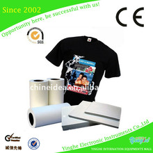 Super clear best quality t shirt heat transfer paper
