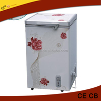 105 Liter cheap and good quality deep ice cream freezer