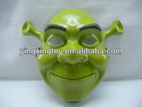 hot sell cartoon toy Shrek plastic mask