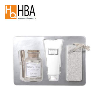 Private Label White Tea Bath And Body Bath Spa Gift Set For Wholesale
