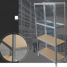 Verniciare Scaffale Metallo.Promozione Bianco Scaffali Metallici Shopping Online Per