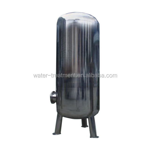 Stainless steel 304 softening tank/water treatment tank/SS water filtration tank