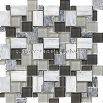 Staind Gl Mosaic Crystal Mix Marble Gb Gs905sq