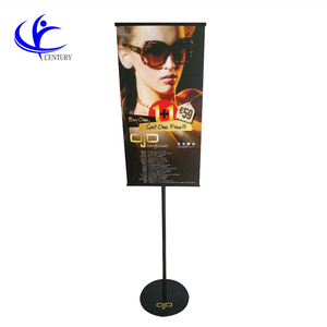 pop sign holder Custom metal poster stand outdoor free stand sign stand display sign