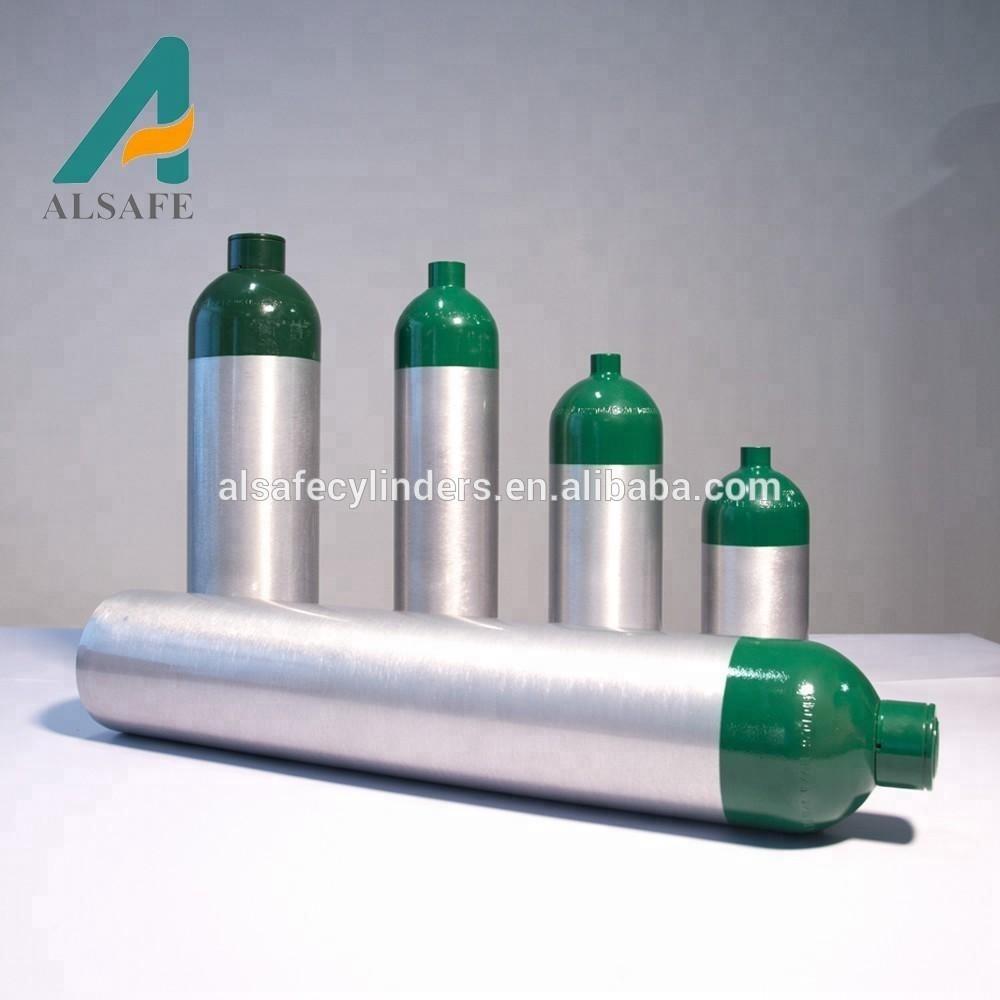 China Hign Pressure Aluminum Medical Oxygen M9 Sizes Gas Tank - Buy Medical  Oxygen Cylinder Sizes,Oxygen Tank,Aluminium Oxygen Cylinder Product on