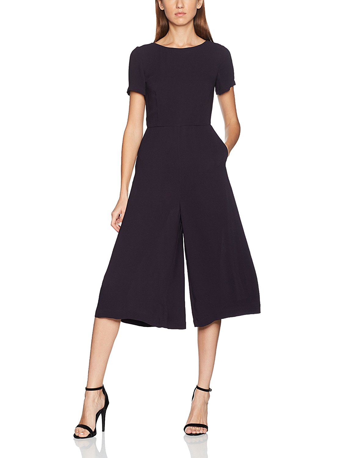 8648b96aec5f Buy French Connection Womens Romanov Posey Crepe Fit and Flare Dress ...