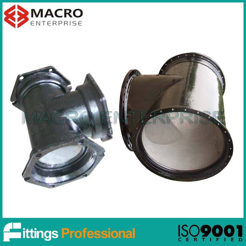 AWWA C110 MJ type ductile iron fittings