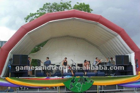 inflatable stage tent for music concert F4023