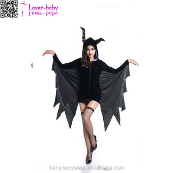 Black very new hot Vampire velociraptor costumes adults