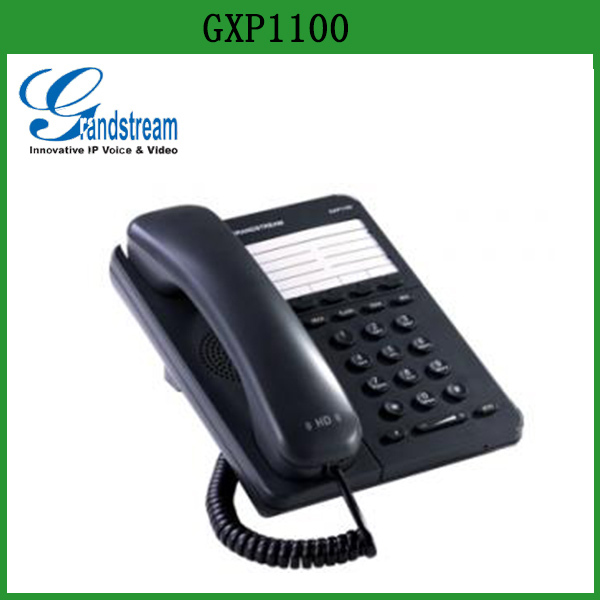 Grandstream Single line voip phone hotel bathroom ip phone loddy sip phone GXP1100