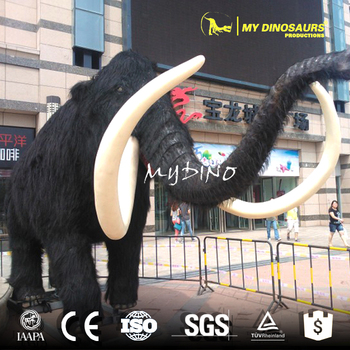My-Dino Outdoor Ice Age Animal Statues Mammoth Model