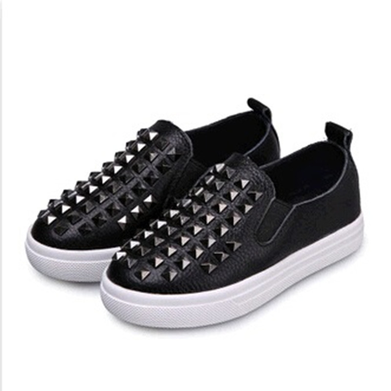 785dd8ba9c Get Quotations · 2015 New Fall Genuine Leather Children Shoes High-Quality  Unisex,Boys,Girls Size