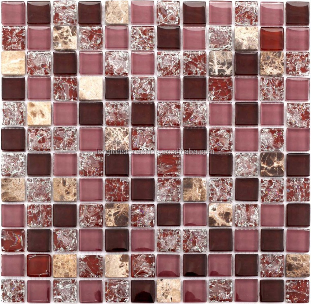purple backsplash tiles mosaic, purple backsplash tiles mosaic