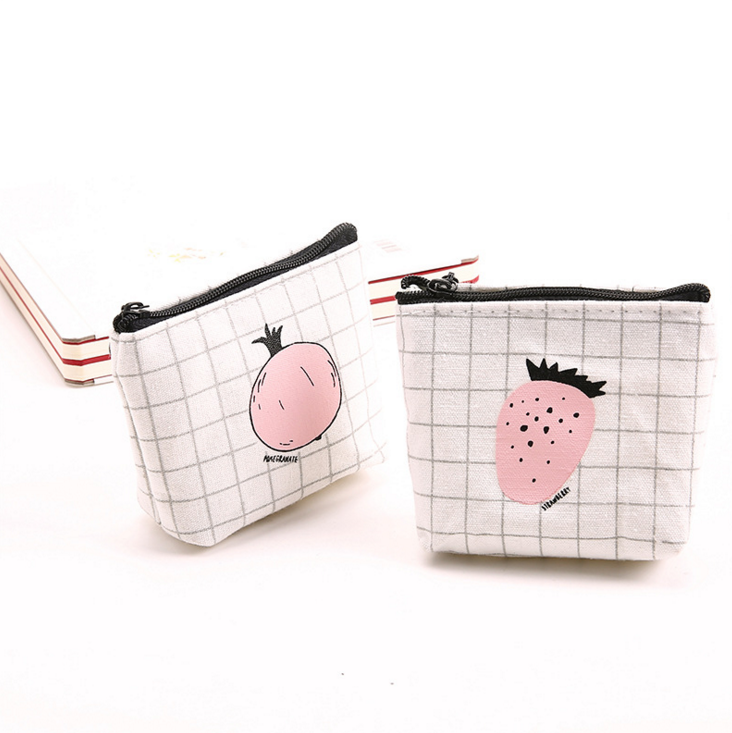 Anhui 2017 Wholesale Lady Purse Wallet Canvas Wallet Ladies Fancy Cute Pattern Girl Gift Mini Coin Purse