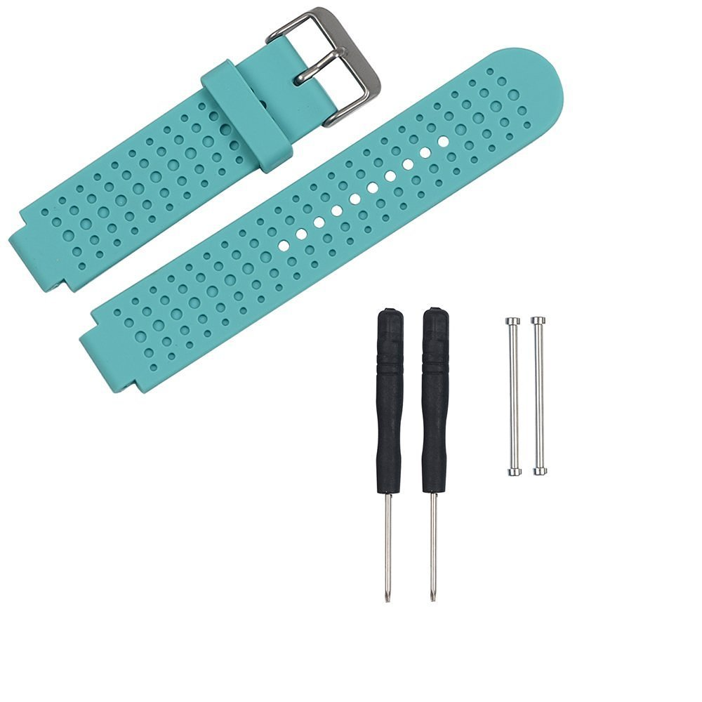 Replacement Bands and Straps for Garmin Forerunner 220/230/235 620/630/735 GPS Running Watch - Teal