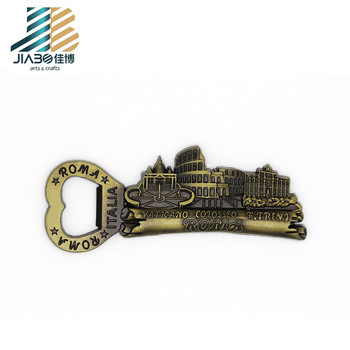 3D new custom shape different types souvenir wood material  bottle opener