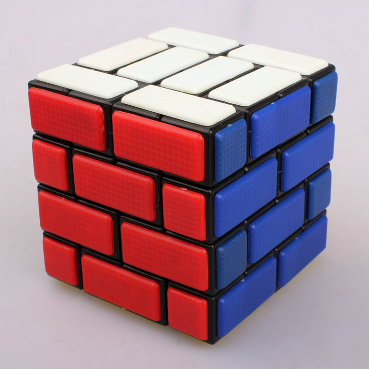 Magic Cubes 4x4x4 Wall Cube Bandaged Puzzle Speed Cubes Learning Educational Cubo Magico Toy For Children