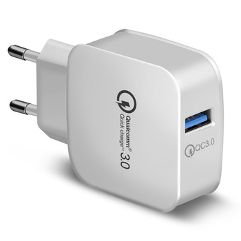 Quick Charge 3.0 for iPhone XS XR 8 iPad 3A USB Wall Charger for Samsung S9 Mobile Phone Charger