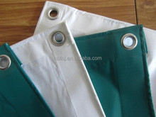 PVC tarpaulins with brass grommets/metal grommets