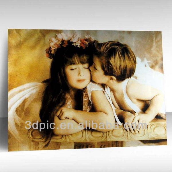 China manufacture custom cute baby pictures 3d