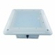 LSI Type Low profile LED canopy light 100W outdoor gas station 347v led gas station canopy light
