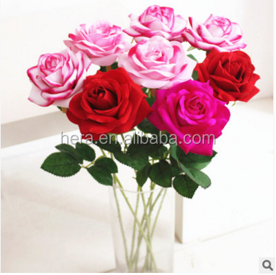 silk vision single rose flowers wholesale for wedding table centerpieces