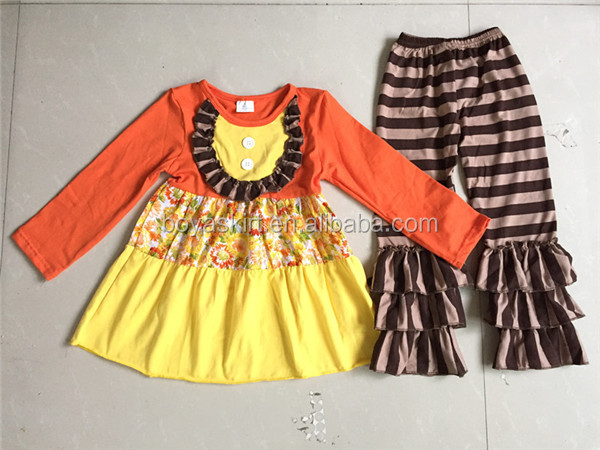 Halloween Boutique Outfits Girls 2017 Fall Clothes Sets Girls Halloween Set