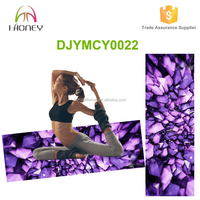 Great Comfort and Eco Friendly Classic Purple Deluxe Yoga Mat
