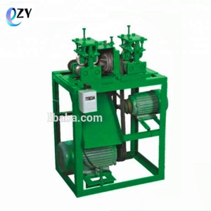 wood single rod making machine/ two feed roller round bar making machine/wooden dowel machine(skype:peggylpp)