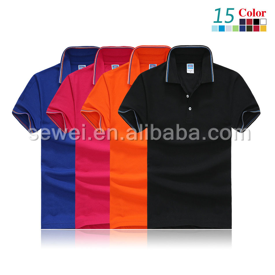 High Quality Promotional Favorable 100% Cotton Polo T Shirt