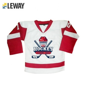 Custom European top quality cheap custom box ice hockey jersey for adults and kids