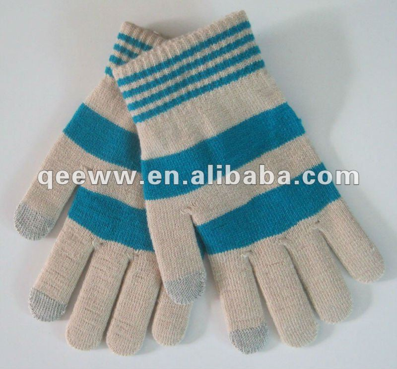 winter,knitted,soft,iphone,cheap,stylish,ladies,kids,men,touch screen wool gloves