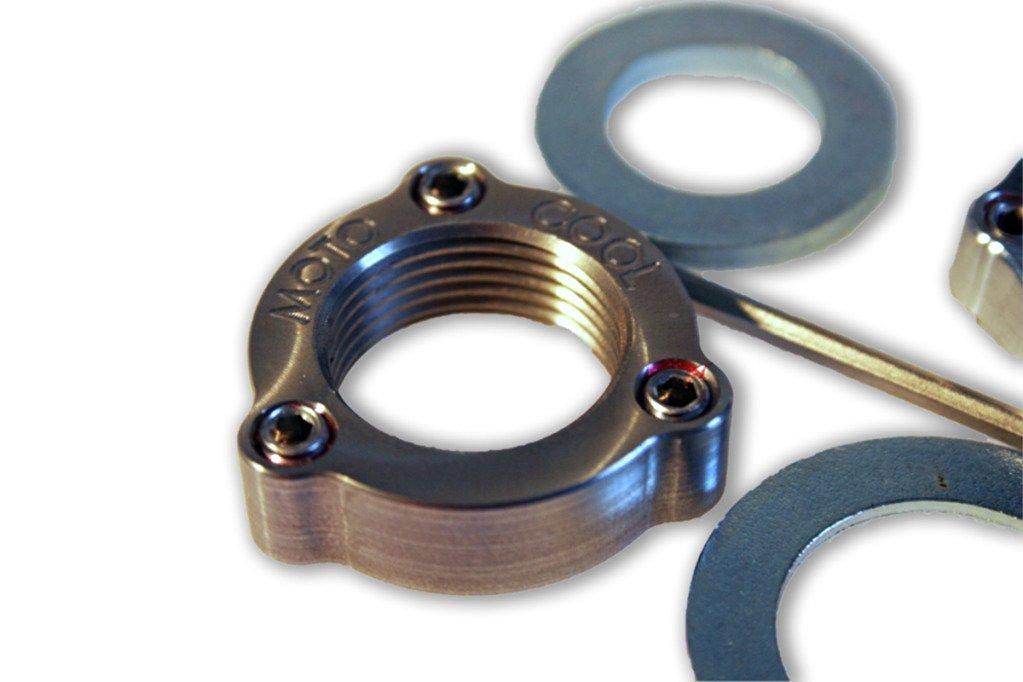 Honda CRF 250 Set Screw Axle Nut Upgrade Kit [Front/Rear]