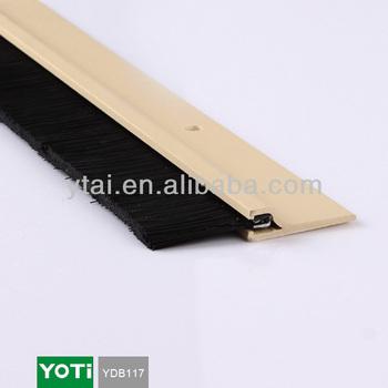 Ydb117 Universal Adjustable Aluminum Door Bottom Sweep Garage Door