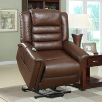 China Leather single seat chair modern electric recliner lift chair sofa ZOY L9620A51