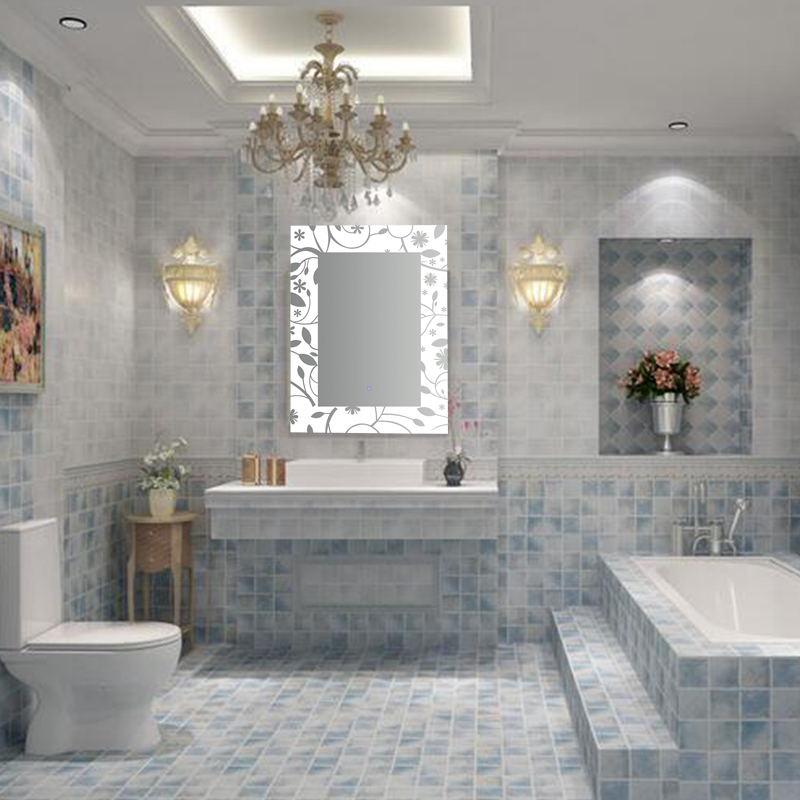 Classic Contemporary Home Lighting Bathroom LED Mirror With Good Lighting Source