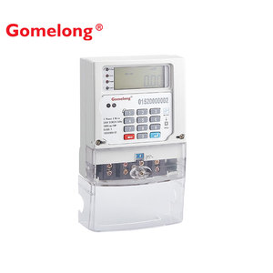 New Style DDSY5558 STS Prepaid Digital Ami Electricity Energy Consumption Meter