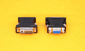 DVI-D 24+1 25 Pin Male To VGA 15 Pin Female Adapter