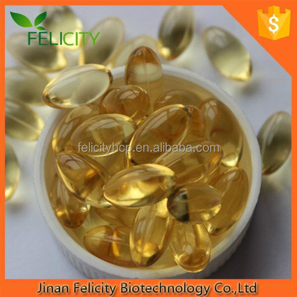 G M P Certificated Omega Fish Oil Softgel Capsules + Vitamin E Fish Oil
