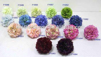 2014 Kunstliche Hortensien Ball Kunstliche Dekorative Blumen